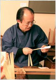 大西京扇堂の店主の写真